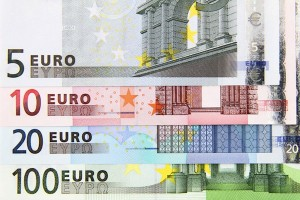 Some of Euro Banknotes