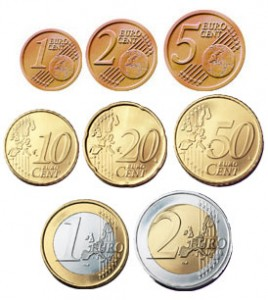 Some of Euro Coins